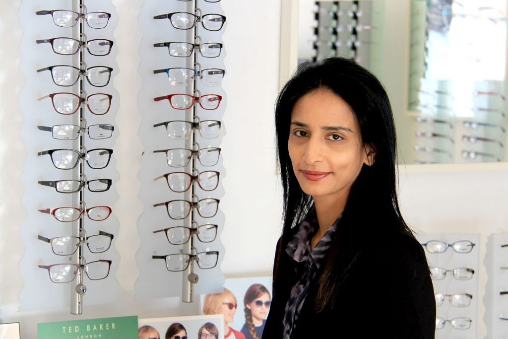 Shreeya our senior optometrist