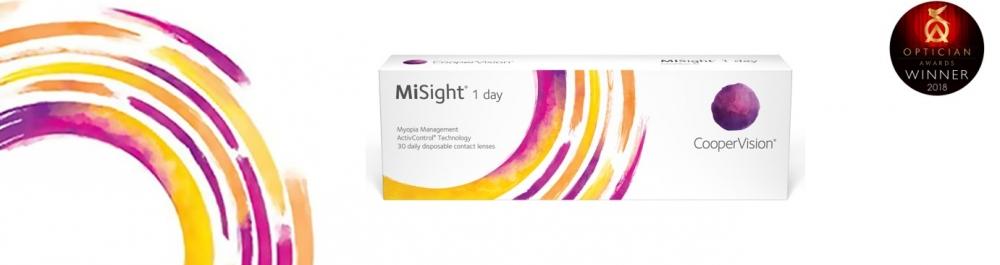 misight myopia control contact lenses