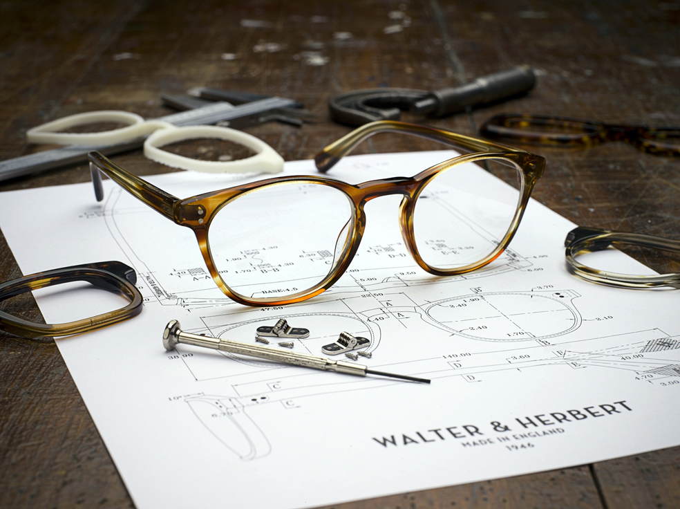 Walter and Herbert spectacle frames